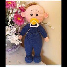Amigurumi Emzikli Bebek Yapımı 7