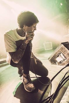 Oli Sykes of Bring Me the Horizon