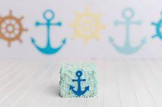 #cakesmash #buttercreamcake #babycake #birthdaycake #firstbirthdaycake #bluecake #sailorcake #nauticalcake #customcake #cutecake