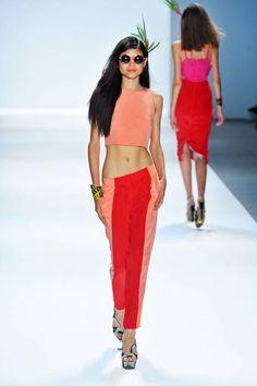 Mara Hoffman Exposed Midriffs Fashion Week Spring 2013 Spring 2013 Trends - ELLE