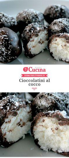 #Cioccolatini al #cocco della nostra utente Sanny. Unisciti alla nostra Community ed invia le tue ricette!