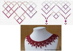 Колье.Схемы. | 1 451 фотография | ВКонтакте Bead Jewellery, Seed Bead Jewelry, Seed Bead Crafts, Seed Bead Necklace, Seed Beads, Beaded Jewelry, Beaded Anklets, Beaded Rings, Beaded Lace