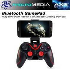 T3+ Wireless Bluetooth 3.0 Gamepad Gaming Controller for Android Smartphone  #MediaVision