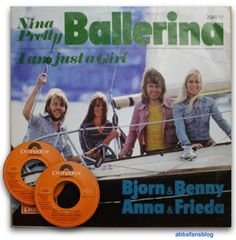 """Abba single """"Nina, Pretty Ballerina"""" from Austria from my collection #Abba #Vinyl #Austria #NinaPrettyBallerina Pretty Ballerinas, Ciri, 8th Of March, Austria, About Me Blog, Fans, Collection, Followers"""