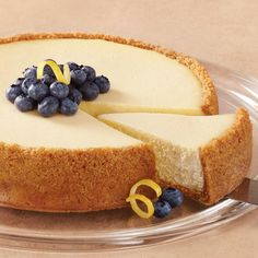 Here's a recipe for a creamy summer treat - Wilton's Golden Lemon Cheesecake.