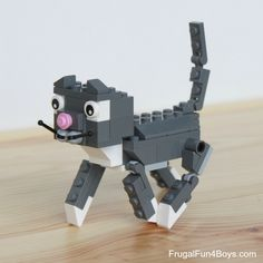 LEGO Cats! Building Instructions - Frugal Fun For Boys