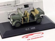 Mercedes-Benz G5 Year 1938 dark green 1:43 Ixo Altaya