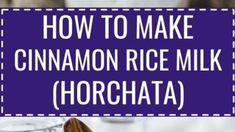 Sarkık Kollar İçin Egzersiz - Güzellik Olsun Rice Milk, Horchata, Cinnamon, Food And Drink, How To Make, Olinda, Canela