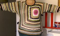Minha blusa colorida.