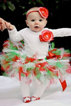 Sweet Gingerbread Girl Christmas Dress Tutu by StrawberrieRose, $79.95