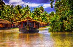 "500px / Photo ""House Boat - Kerala"" by Sreekumar Mahadevan Pillai"