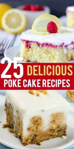 Poke Cake Recipes ar