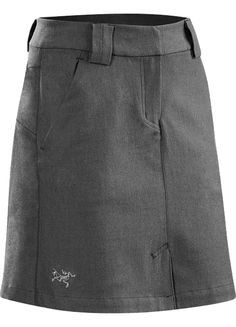 Reia Skirt Women's Fall weight, trim fit skirt in a cotton blend fabric that contains a touch of wool