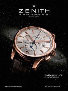 Advertisement - macro // Zenith timepiece