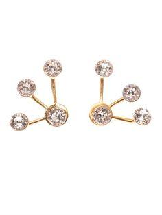 Pixie Maxi lobe-cuff earrings | CA&LOU | MATCHESFASHION.COM