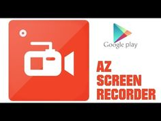 Como usar o app Az Screen recorder sem ROOT!