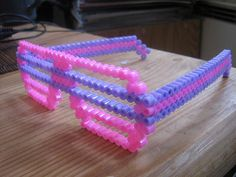 Cool Perler Bead sunglasses