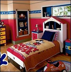 mickey mouse theme bedroom decorating-mickey mouse theme bedroom decorating