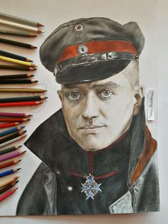 Manfred Albrecht von Richthofen The Red Baron Ace of the aces WW1