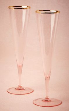 Champagne flutes to cheers with!