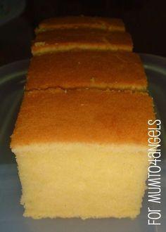 Mum to 4 Angels: Cream Cheese Butter Cake - half recipe n try Cream Cheese Recipes, Cake With Cream Cheese, Just Desserts, Delicious Desserts, Dessert Recipes, Pie Cake, No Bake Cake, Torte Cake, Food Cakes