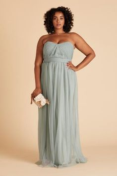Christina Convertible Dress Curve - Sage Bridesmaid Dresses Under 100, Bridesmaid Dresses Plus Size, Wedding Dresses, Bridesmaids, Convertible Dress, Party Looks, Strapless Dress Formal, Spaghetti Straps, Streamers