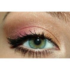 pink gold makeup - Google Search