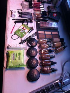 Behind The Scenes, Makeup, Make Up, Bronzer Makeup