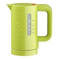 bodum electric kettle - miss our kettle from scotland. might need to get this one of these days! You may like this other beautiful kitchen accessory also ►►► http://amzn.to/1JVrRur