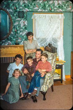 Family - Kodachrome Slide - 1953 | Flickr - Photo Sharing!