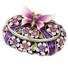 Cute little butterfly trinket box