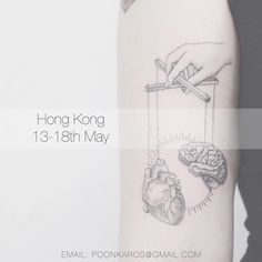 """For appointments please email me at poonkaros@gmail.com with """"Hong Kong"""" in the title, and the idea, size and placement of what you would like. I'll be working with the talented @liningtattoo and @irisyauripley this time. See you there friends!"""