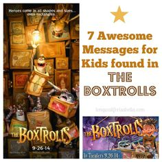 7 Messages {I Love} Found in The Boxtrolls Movie #TheBoxtrolls