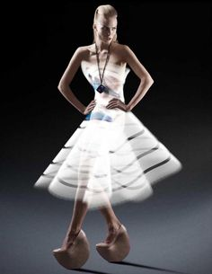 Light Painted Dress fashion Atton Conrad chicquero 3