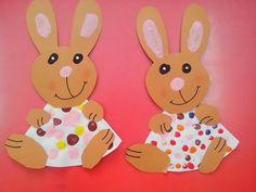 easter bunny craft idea (2)  |   Crafts and Worksheets for Preschool,Toddler and Kindergarten