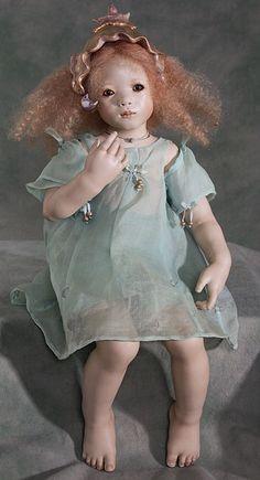 Annette Himstedt Vinyl Dolls, Porcelain Dolls & Artist's Proof at The Toy Shoppe Annette Himstedt, Vinyl Dolls, Disney Princess, Disney Characters, Communication, Artist, Collection, House, Home
