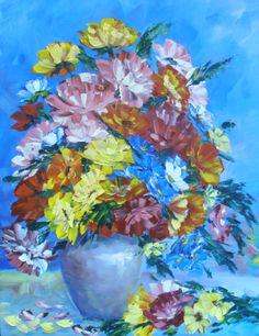 Canvas ,cotton ,Mastikhin. Professional Маслеными paints in the technique impressionism.Холст wrapped around the edges ,ready повесить.19,7*15,8 (50*40*2 cm )