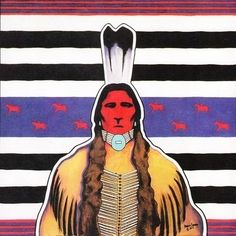 Marcus Cadman is a Native American painter of Navajo and Kickapoo heritage working primarily with acrylic on canvas and paper.