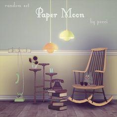 Sims 3 Finds - Random set Paper Moon at Garden Breeze