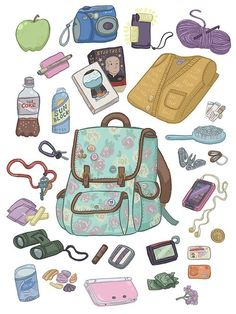 30 Whats In My Purse Drawing whats bag whats bag art drawing bag bag Source: website whats bag mymaudlincareer deviantart Source: webs. Backpack Drawing, Drawing Bag, Character Concept, Character Art, Character Design, What's In My Backpack, Travel Backpack, Desenhos Gravity Falls, What's In My Purse