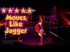 Just Dance 4 - Moves Like Jagger - 5* Stars
