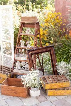 Romantic & Rustic Garden Wedding in California | Confetti Daydreams