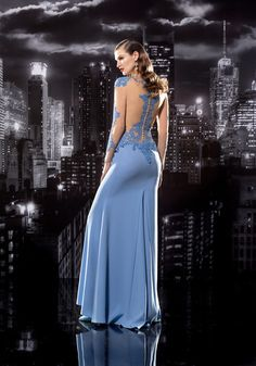 Show off your curves in this sheer back silk dress #stayclassy #bealady #promdress #dresstoimpress #fashionpost #promstyle #promqueen #promnight