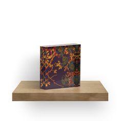 « rich floral on deep purple » par clemfloral