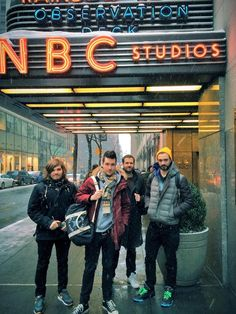 Bastille getting ready for SNL. I cried watched the performance. Amazing Songs, Best Songs, Music Tv, Music Bands, Kinds Of Music, Music Is Life, Storming The Bastille, Will Farquarson, Kyle Simmons