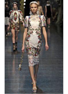 <3  Dolce & Gabbana Fall 2012...sigh