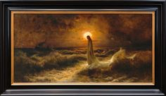 Christ Walking on Water (26x44 Canvas)