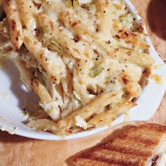 Baked Penne with Farmhouse Cheddar and Leeks  Recipe
