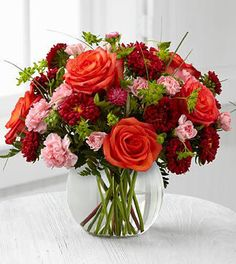 Spring Flowers - FTD Color Rush Bouquet by Better Homes and Gardens -