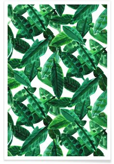 Small Palm Leaves - Amy Sia - Premium Poster